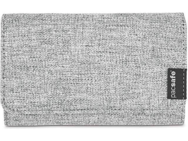 Pacsafe RFIDsafe LX100 portemonnee, tweed grey